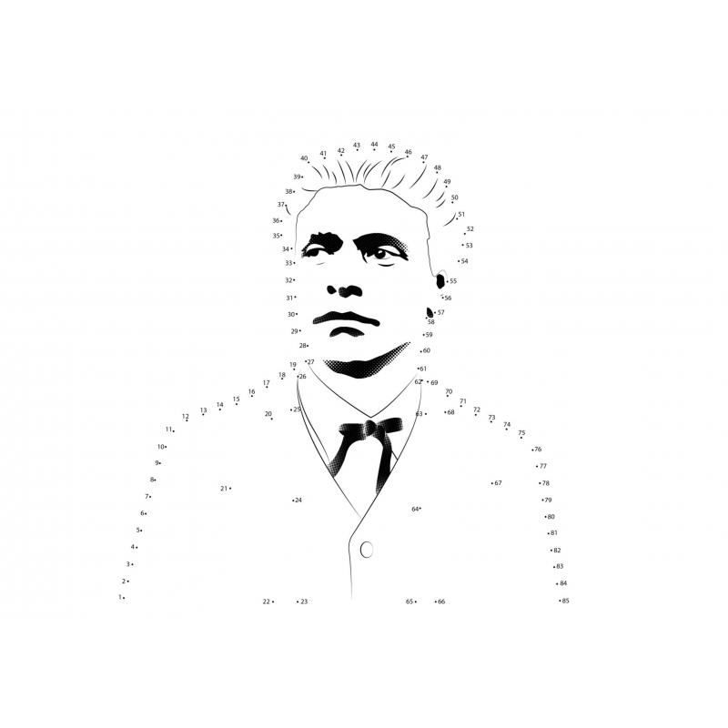 Васил Левски за оцветяване